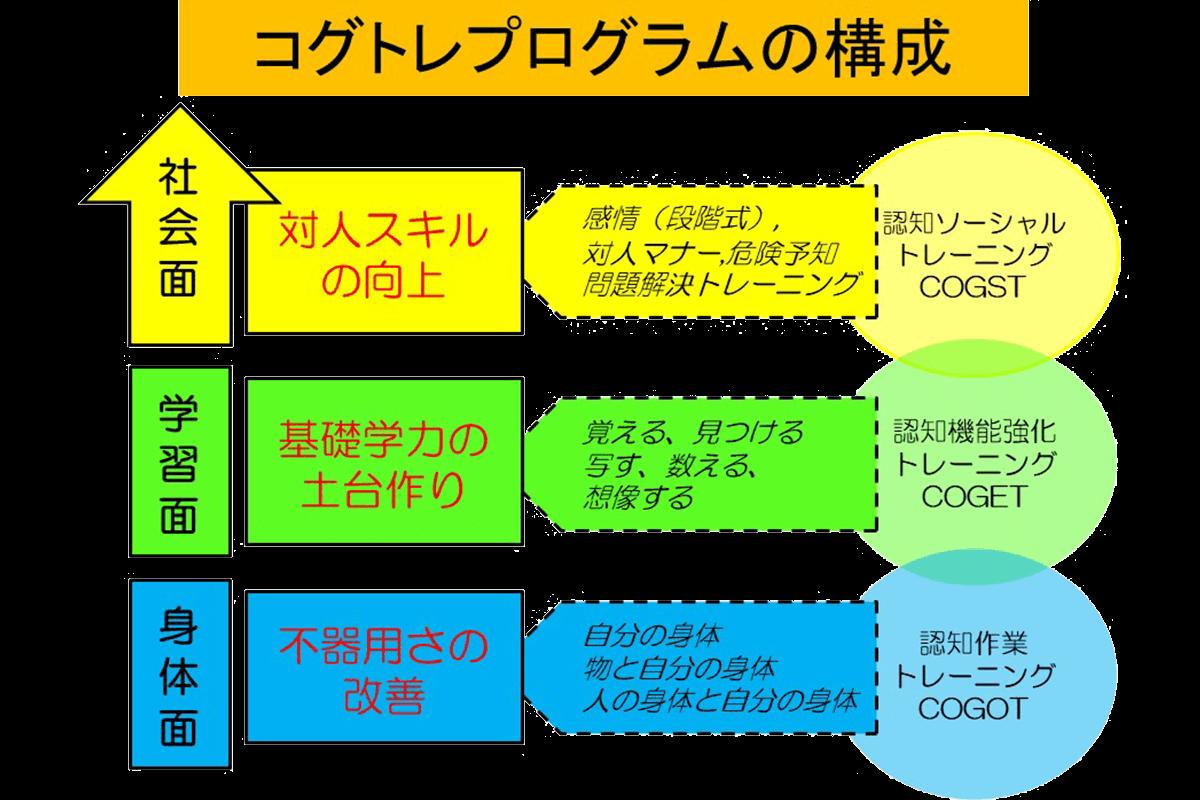 コグトレプログラムの構成